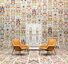 'Archives - Alt Deutsch Wallpaper by Studio Job. @2Modern' | www.bocadolobo.com #bocadolobo #luxuryfurniture #exclusivedesign #interiodesign #SaloneDelMobile #Milan #Design #iSaloni #MDW2017 #salone2017