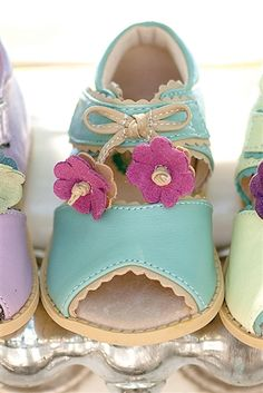 Livie & Luca Spring and Summer Merry Bell Shoes Light Blue Spring 2014 Preorder
