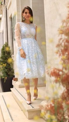 Blue Evening Dresses, Prom Dresses Blue, Petite Dresses, Western Dresses For Women, Frock For Women, Designer Party Wear Dresses, Event Dresses, Rainbow Wedding Dress, Simple Pakistani Dresses