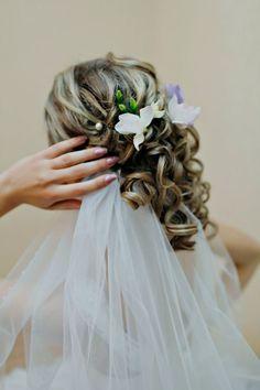 bridal hair style on weddingcakeswallpaper.com