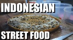 I'm in Bandung and I eat nasi goreng and martabak in the streets! Indonesia's great for the night time street food scene. Indonesian Cuisine, Nasi Goreng, Street Food, Asian Recipes, Food Videos, Seafood, 3 Movie, Fruit, Fox