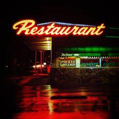 Route 66 #neon #vintage
