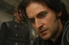 Richard Armitage as Sir Guy of Gisborne from the BBC Robin Hood. AGGHH!! This pic was from the scene where Guy discovers that Marian is the Night Watchman!!!