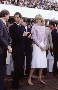 1983-06-28 Diana and Charles attend Harness Racing at Charlottetown Driving Park, Prince Edward Island