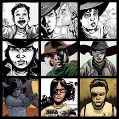 I love the evolution of Carl!! And I must admit, as Chandler Riggs grows, so does the TV Carl. He's really doing great and I believe that he will give great justice to his comic counterpart.