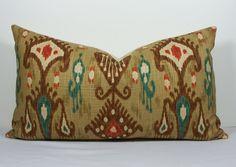 Decorative Pillow Cover Robert Allen Lumbar Throw by WilmaLong, $40.00