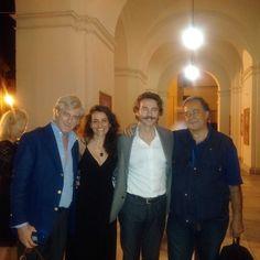 Con Alessio Boni, Renzo Musumeci Greco e Francesco Brancatella