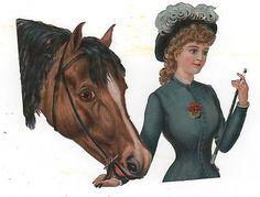 Frases - Victorian Die Cut - Chatarra Victoriana - Victorienne Tubo - Glansbilleder - Plaatjes