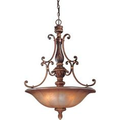 M1354177 Illuminati Up Light Pendant Light - Illuminati Bronze