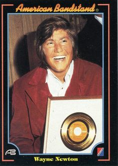 RARE 1993 COLLECT-A-CARD AMERICAN BANDSTAND WAYNE NEWTON MINT