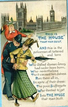 """When the women were protesting in front of the white house, they were arrested for """"obstructing traffic"""" and were taken to the Occoquan (VA.) Women's Prison where they were considered criminals and treated cruel."""