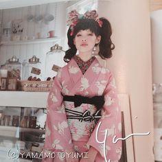 """""""【着物】【ラフォーレ】 9/11オープンするTOKYO KAWAII MUSEEですが、レンタル着物の中には、ずっとずっと大人気なうさぎのミニョンヌもあります。 この撮影のときに使用した1点ものです。 この着物は9月いっぱいの貸し出しとなりますのでお早めにどうぞ! tokyokawaiimusee.com…"""""""