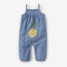 Combinaison de bébé imprimé ananas #ananas #laredoute #2015