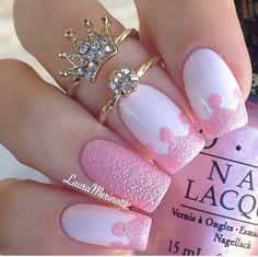 Princess manicure http://instagram.com/lauramerino12