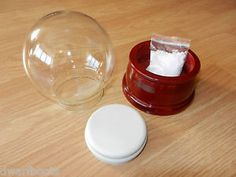 Fantastic-Snow-Globe-Kit-Water-Globe-Kit-100mm-glass-dome-wooden-base