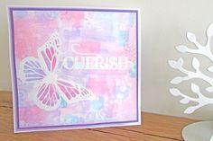 How to Make a Card using Spectrum Noir Aquatints #Papercraft #CraftersCompanion #Art