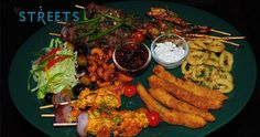 The delicious Cantare seafood platter, Goa Streets