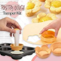 Baking Recipes, Cookie Recipes, Dessert Recipes, Desserts, Cupcakes, Cupcake Cakes, Pastry Shells, Tart Shells, How To Make Pie
