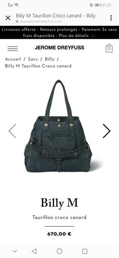Jerome Dreyfuss, Gym Bag, Bag, Duffle Bags