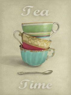 janie secker vintage tea i