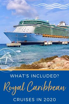New Video: What& Included on Royal Caribbean Cruises in Caribbean Cruise Ships, Cruise Tips Royal Caribbean, Royal Cruise, Royal Caribbean Ships, Cruise Excursions, Cruise Destinations, Cruise Travel, Cruise Vacation, Vacations