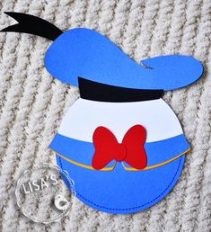 Donald Duck Invitation