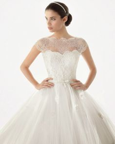 Vestido de Noiva ♡ Coleção Rosa Clará Noivas 2014