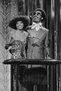Diana Ross & Stevie Wonder, 1976