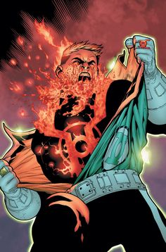 Red Lantern Corps   Heroes World Blog: Green Lantern Corps #43! RED LANTERN!