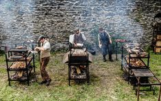 Fire Cooking, Outdoor Cooking, Smokehouse, Smoking Meat, Tents, Homesteading, Outdoor Living, Grilling, Kitchens