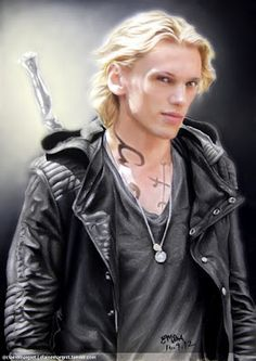Jamie Campbell Bower as Jace in The Mortal Instruments: City of Bones