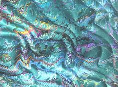 Galen berry marbling paper