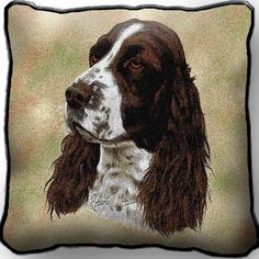 English Springer Spaniel Dog Pillow