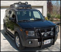 Honda Element Hunter brush guard