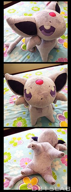 Espeon plush by d215lab.deviantart.com on @deviantART