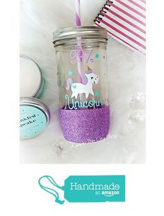 Purple Sequin Llamacorn Drinking Cup with Straw Brand New Gifts by Recipient