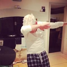 Philip Schofield does the dab dance in hilarious video