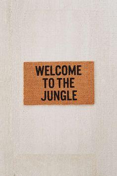 Slide View: 1: Reed Wilson Design Jungle Doormat