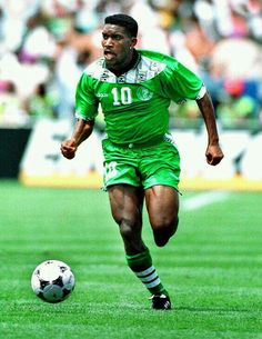 Jay Jay Okocha of Nigeria at the 1994 World Cup Finals.