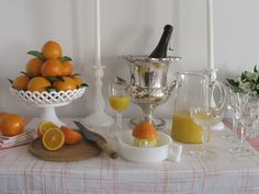 Drink Of The Week - Mimosa Bar