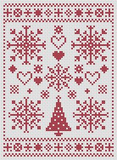 This listing is for a full-colour PDF pattern, which is available for immediate download. The pattern is provided as a full-colour chart, which can