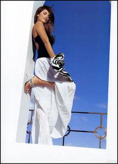 Penelope Cruz black and white