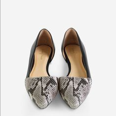 0c6b7e43e6d3 LOVING all of the d orsay styles coming for this next season. My favorite  flat is the Amalia Skimmer by Cole Haan.