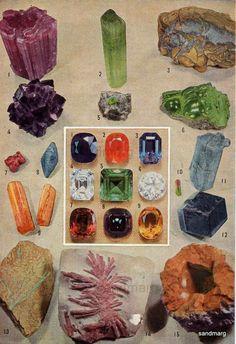 Chart of Precious Gemstones