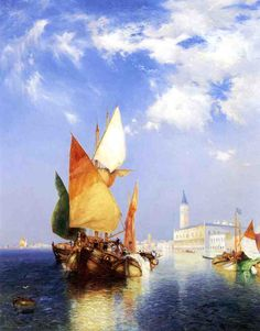 The Grand Canal, Venice, by Thomas Moran, one of my favorite painters!