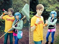 Scott and Ramona.  I'm in lesbians with you. by ~irisraydiant on deviantART