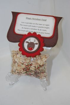 reindeer food to sell at christmas fair