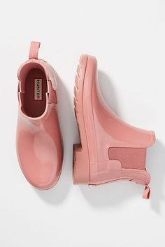 See this Hunter Boots Original Chelsea Rain Booties from Anthropologie. See this Hunter Boots Original Chelsea Rain Booties from Anthropologie. Sock Shoes, Women's Shoes, Wedge Shoes, Me Too Shoes, Shoe Boots, Heeled Boots, Prom Shoes, Fall Shoes, Winter Shoes