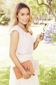 Take a second look! A pretty blouse is extra charming with a tiny print. LC Lauren Conrad at #Kohls