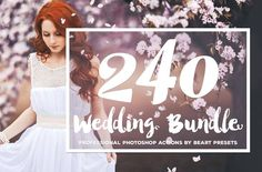 The Best Wedding Photoshop Actions Bundle was designed to drastically improve your workflow for processing and editing wedding pictures.It features 240 resources that will allow you to quickly and easily add a professional finish to your images. These are a must have for bloggers and wedding photographers out there. $39 https://crmrkt.com/qgydK?u=sarahdesign#ad